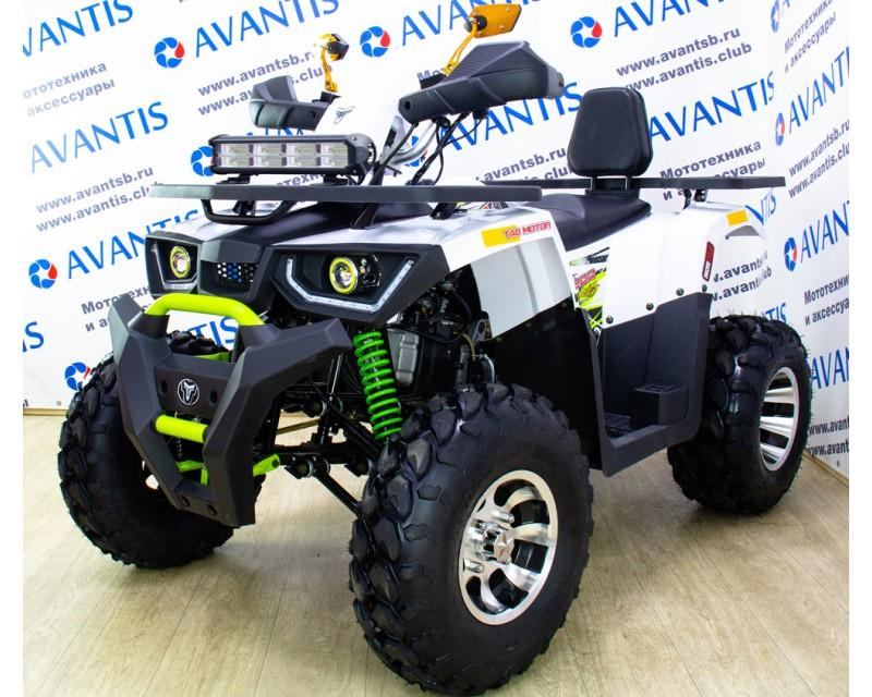 Квадроцикл Avantis Hunter 200 New Premium (баланс.вал) белый