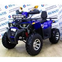 Квадроцикл Avantis Hunter 200 New Premium (баланс.вал) синий