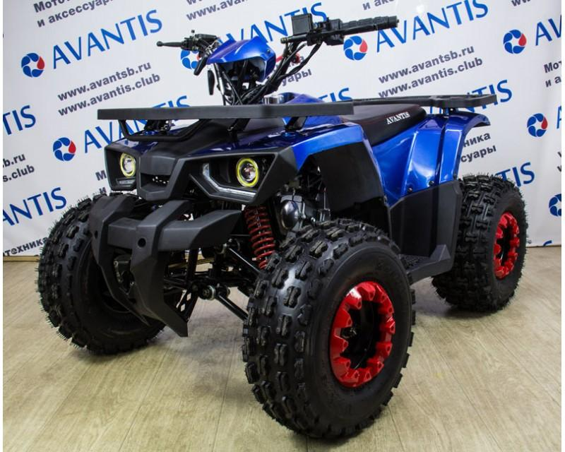 Avantis Hunter 8 LUX New (2018) синий 125 кубов