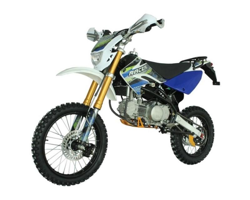 Мотоцикл Racer RC160-PH Pitbike (синий)